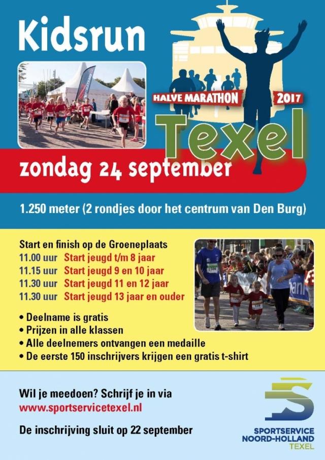 Kidsrun Texel Halve Marathon